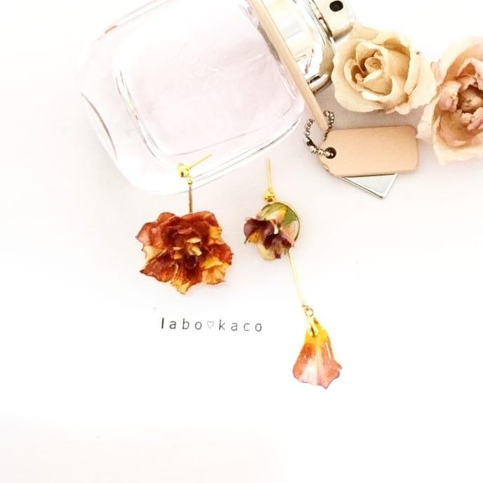 レジン レジン作家 クリエイター レジン教室 レジン液 レジンフラワー レジン加工 レジンクラフト ハンドメイド レジンアクセサリー作家 LEDレジン UVレジン お花のアクセサリー お洒落な人と繋がりたい レジンハンドメイド 本物のお花 本物のバラピアス 本物のお花のアクセサリー バラの花 バラが好き  バラ  ローズ  rose  roseacessorios  レジン好きさんと繋がりたい レジンクラフト好きさんと繋がりたい レジンクラフトをやっている人と繋がりたい resin